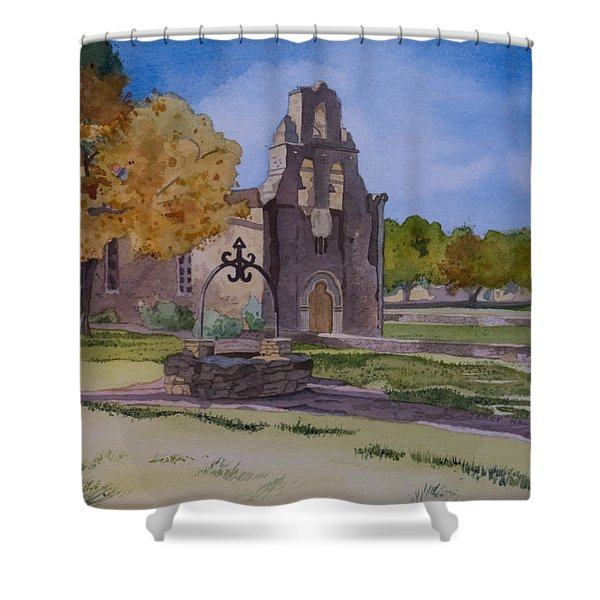 Texas Mission Shower Curtain