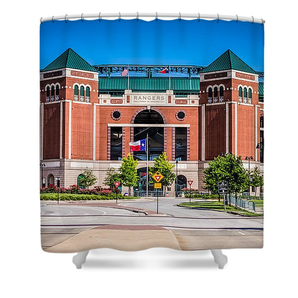 Globe Life Park In Arlington Shower Curtain