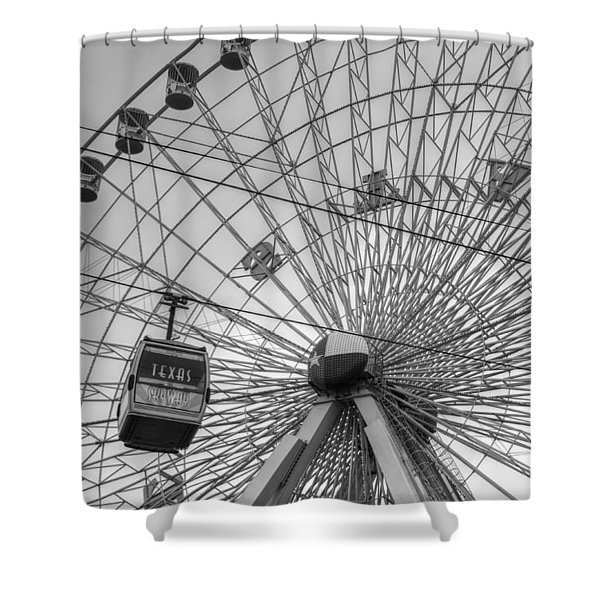 Texas Star Ferris Wheel Shower Curtain