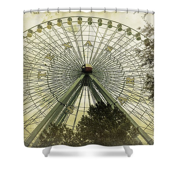 Texas Star Old Fashioned Fun Shower Curtain