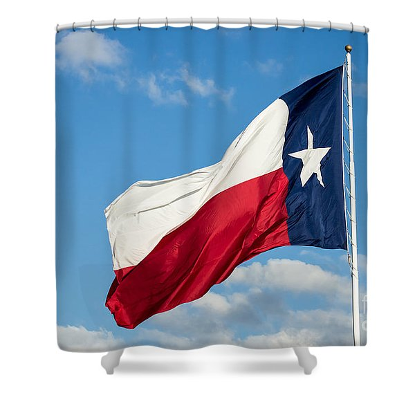 State Flag Of Texas Shower Curtain