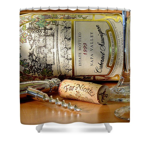 Timing Is Everything Shower Curtain