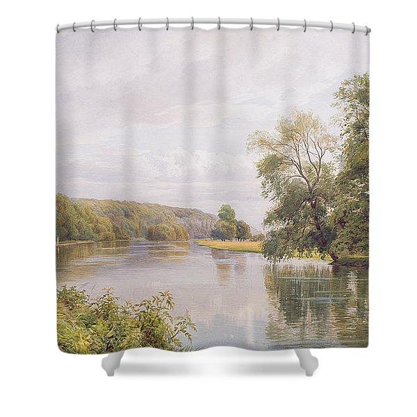 Thames Shower Curtain