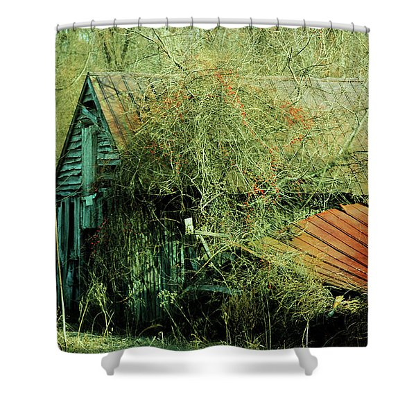 That Old Barn Shower Curtain