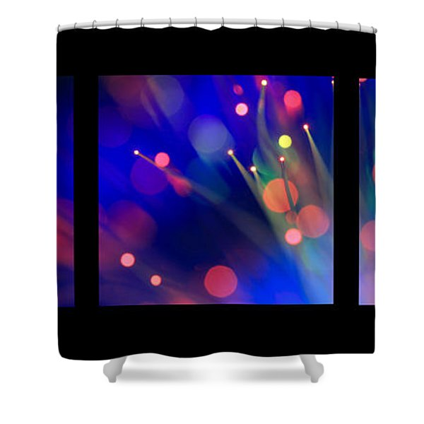 That Old Black Magic Series Layout Shower Curtain
