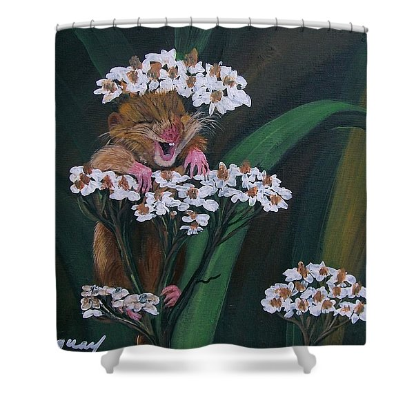 That Tickles Shower Curtain