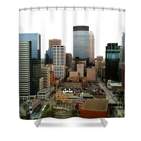 The 35th Floor Shower Curtain