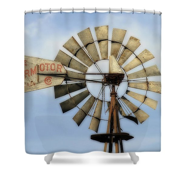 The Aermotor Company Shower Curtain