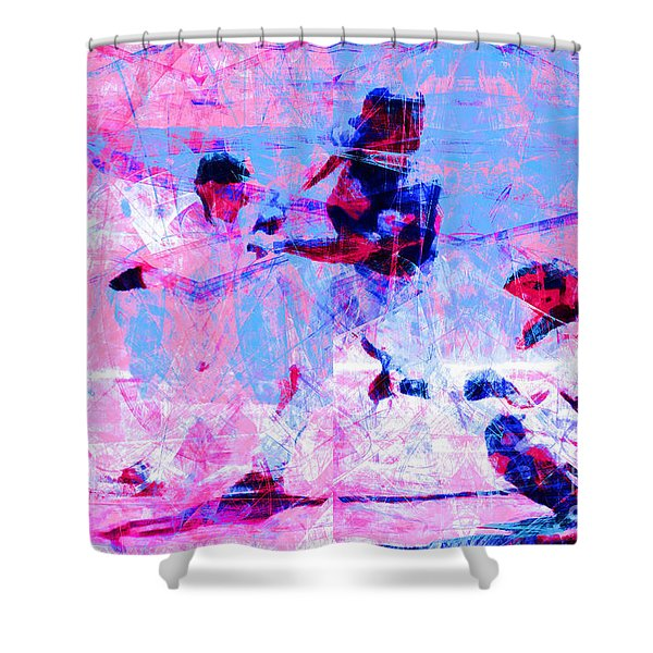 The All American Pastime 20140501 V2 Shower Curtain
