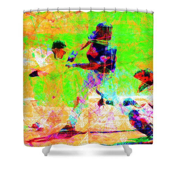 The All American Pastime 20140501 Shower Curtain