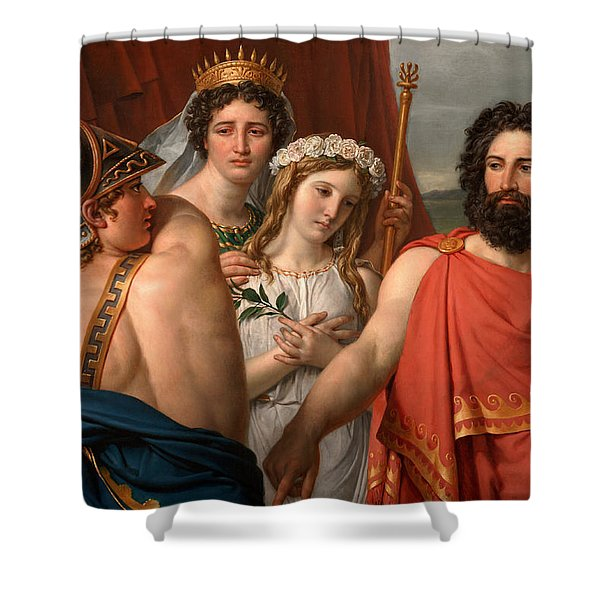 The Anger Of Achilles Shower Curtain