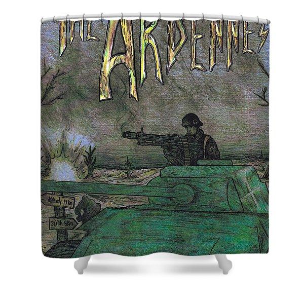 The Ardennes Shower Curtain