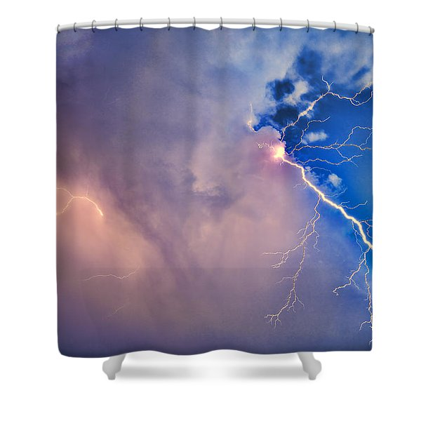 The Arrival Of Zeus Shower Curtain