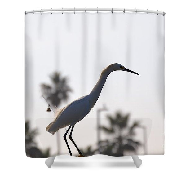 Shower Curtain featuring the photograph The Art Of Fishing by Laurie Lundquist
