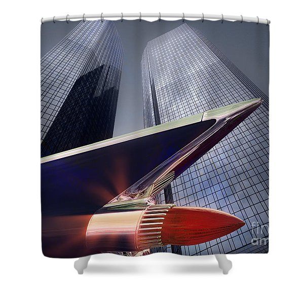 The Bank Shower Curtain