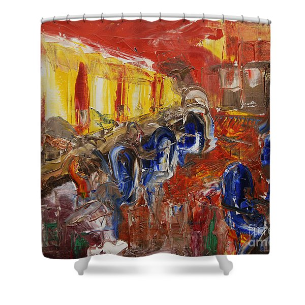 The Barber's Shop - 2 Shower Curtain