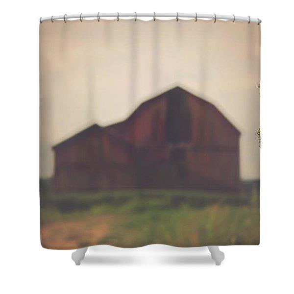 The Barn Daylight Version Shower Curtain