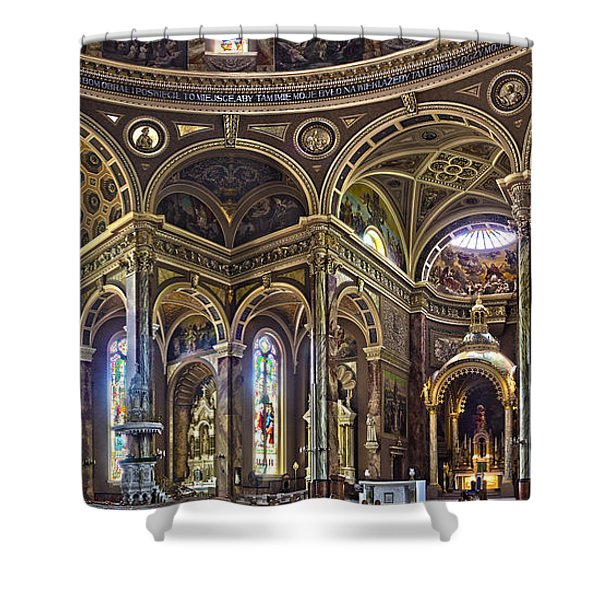 The Basilica Of St. Josaphat Shower Curtain