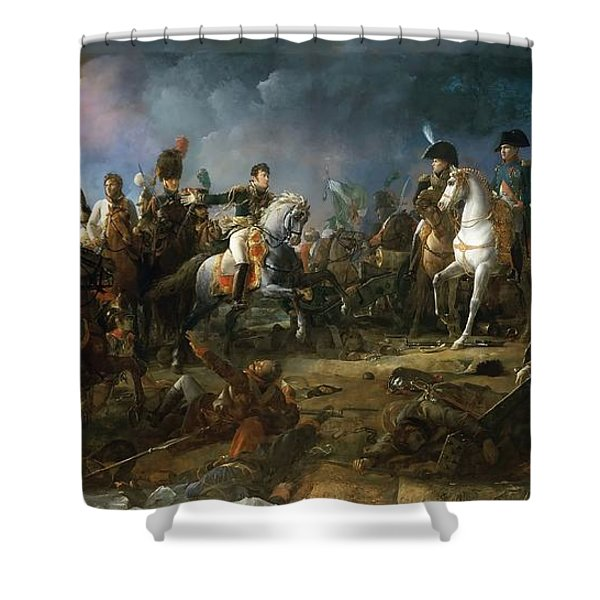 The Battle Of Austerlitz Shower Curtain