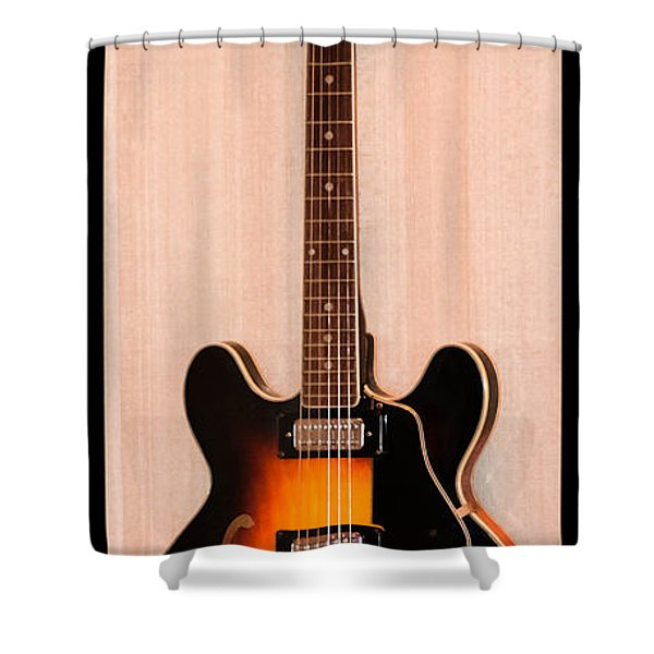 The Beach Boys Brian Wilson's Guitar Shower Curtain