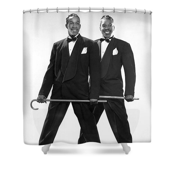 The Berry Brothers Dance Team Shower Curtain