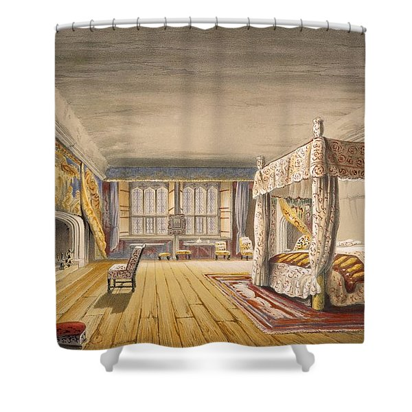 The Best Bedroom, Cotehele House Shower Curtain