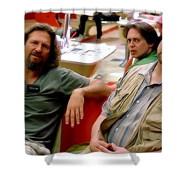 The Big Lebowski Shower Curtain