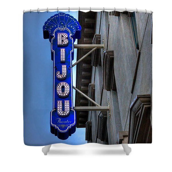 The Bijou Theatre - Knoxville Tennessee Shower Curtain