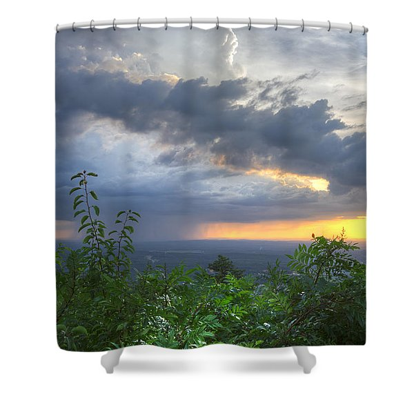 The Blue Ridge Mountains Shower Curtain