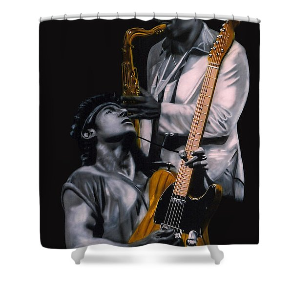 Bruce And Clarence Shower Curtain