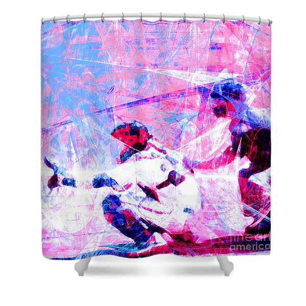 The Boys Of Summer 5d28228 The Catcher Square V3 Shower Curtain
