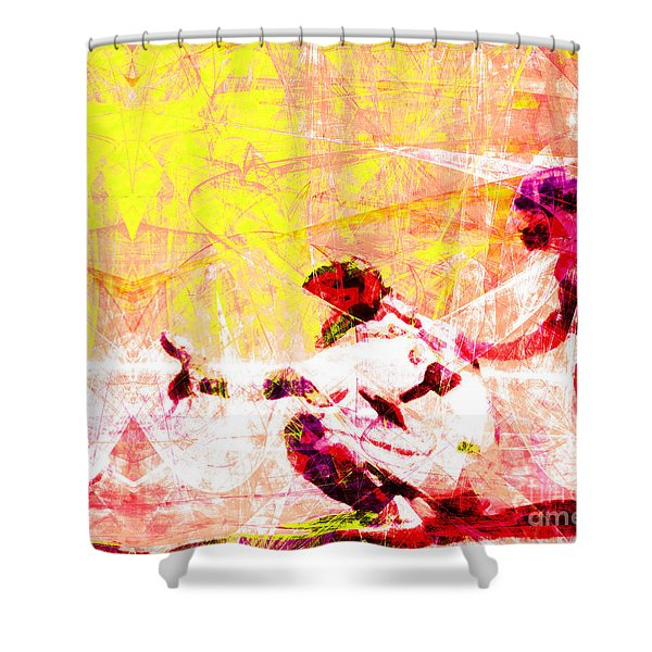 The Boys Of Summer 5d28228 The Catcher V2 Shower Curtain