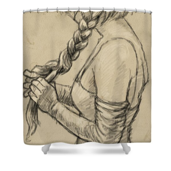 The Braid Shower Curtain
