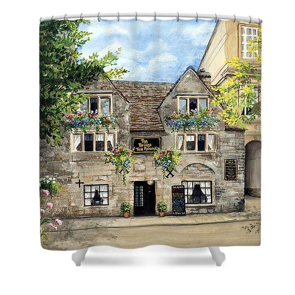 The Bridge Tea Rooms Shower Curtain