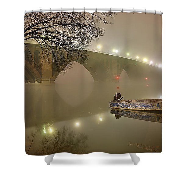 The Bridge To Nowhere Shower Curtain