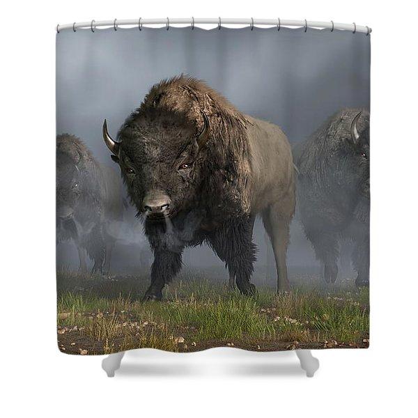 The Buffalo Vanguard Shower Curtain