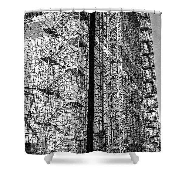 The Builders, Cape Town, South Africa Shower Curtain