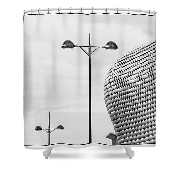 The Bullring Shower Curtain