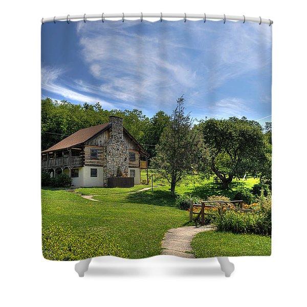 The Cabin Shower Curtain