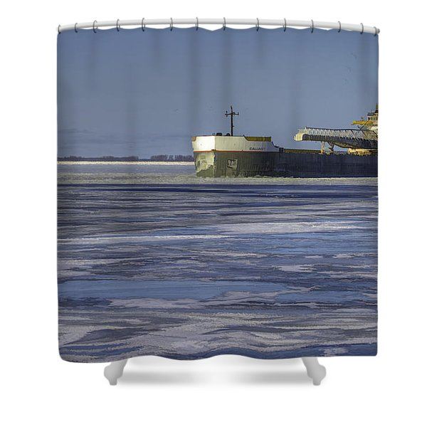 The Calumet Shower Curtain