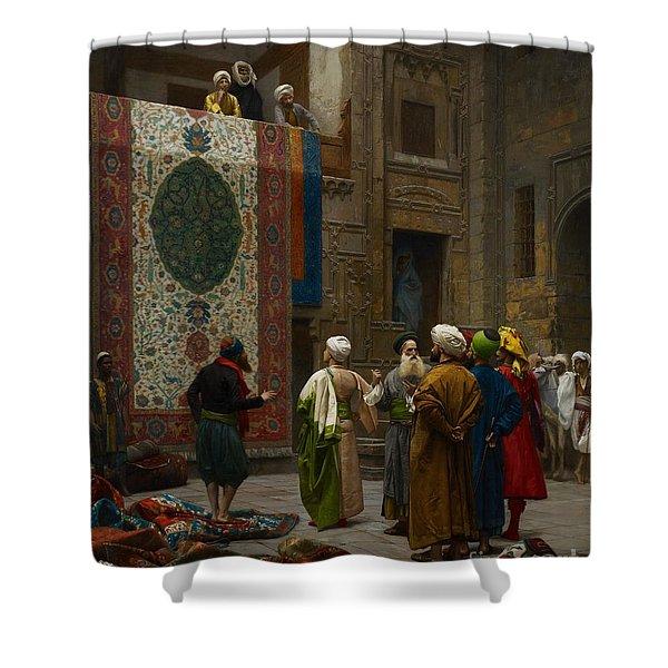 The Carpet Merchant Shower Curtain