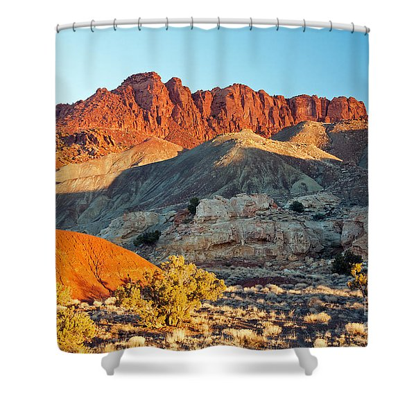 The Castle Capitol Reef National Park Shower Curtain