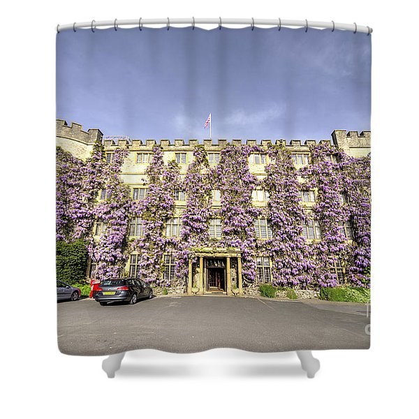 The Castle Hotel  Shower Curtain