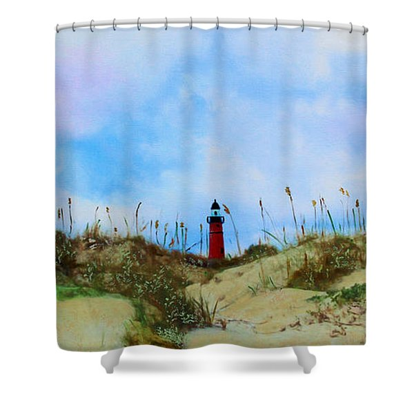 The Center Of Attention Shower Curtain