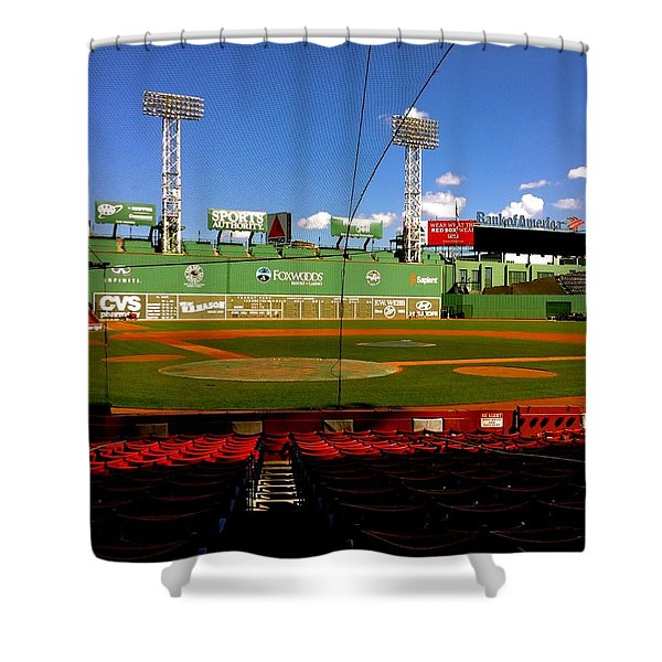 The Classic  Fenway Park Shower Curtain