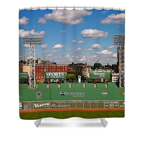 The Classic II Fenway Park Collection  Shower Curtain
