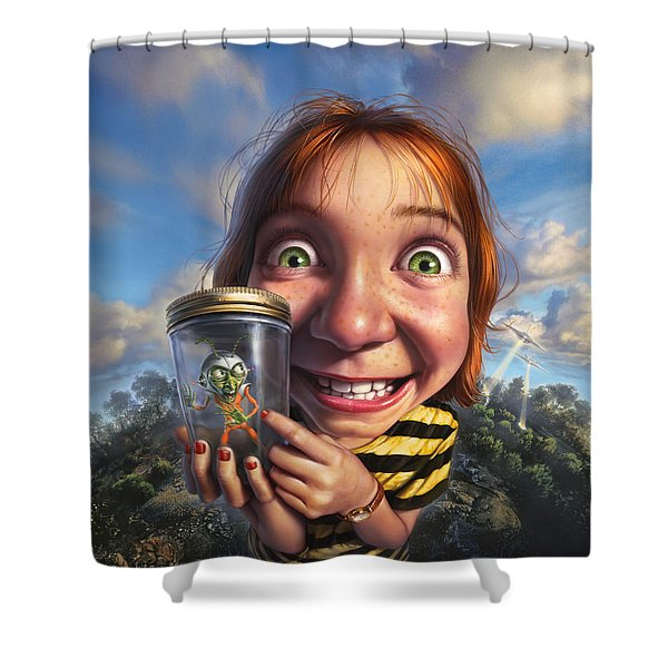 The Collector Shower Curtain