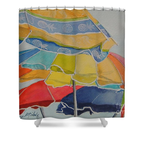 The Colors Of Fun.  Sold Shower Curtain