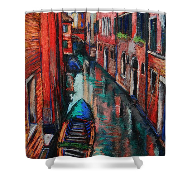The Colors Of Venice Shower Curtain