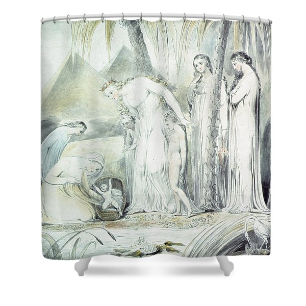 The Compassion Of Pharaohs Daughter Or The Finding Of Moses Shower Curtain